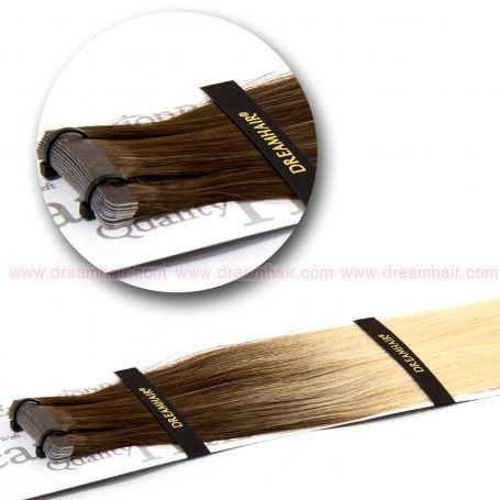 DreamHair Slavic Tape-In Extension Ombre 50cm 6/DB2#