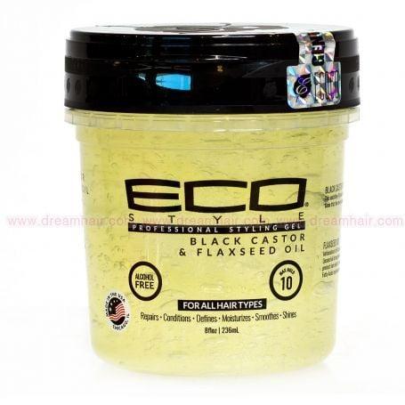 EcoStyler Black Castor Oil Gel 236ml