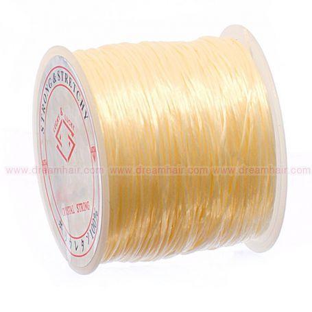 Elastinen Crystal String Lanka Blond