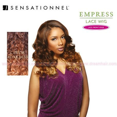 Sensationnel Empress Lace Front Edge Gwen Color DXR4633