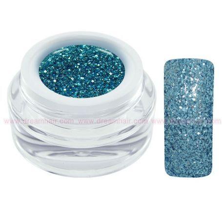 CH Nails Extreme Glitter Geeli Blue 5ml
