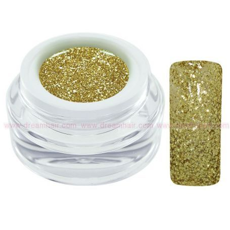 CH Nails Extreme Glitter Geeli Gold 5ml