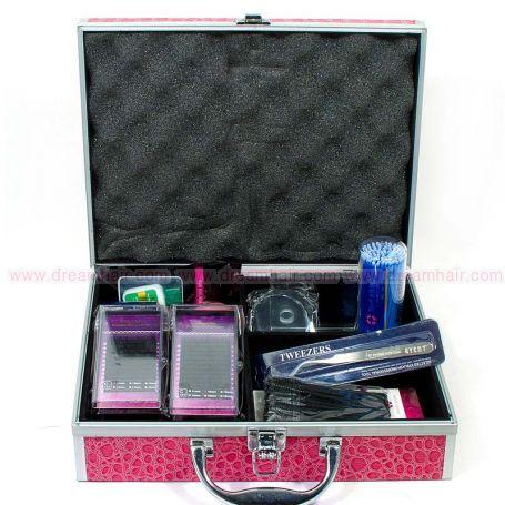 Ripsien Pidennys Aloituspakkaus Pro Pink