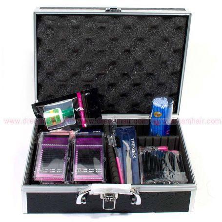 Eyelashes Starter Kit Pro Black