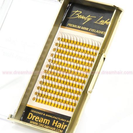 Premium 5D Eyelashes D-Curl 0.07T 12mm
