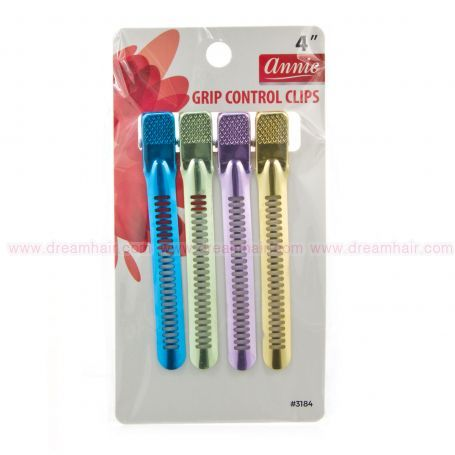 Grip Control Clips Asst 4pcs