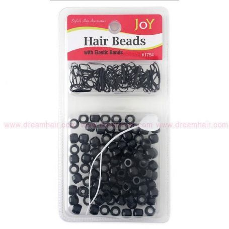 Hair Beads Black