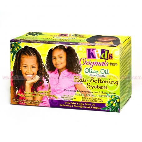 Africa's Best Kids Hair Softening System