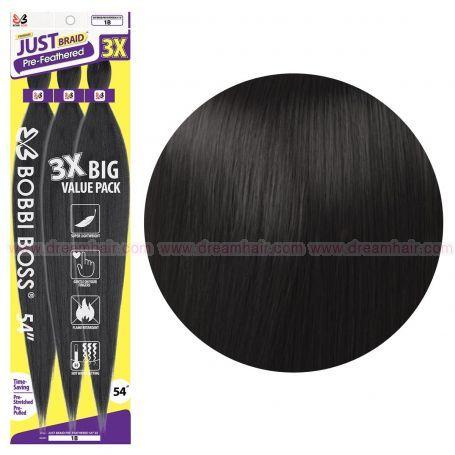 Bobbi Boss Just Braid 3 X Pack, Color 1B#