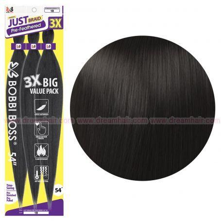 Bobbi Boss Just Braid 3 X Pack, Color 2#