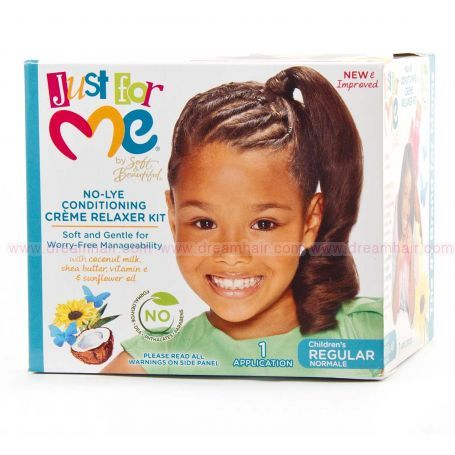 Just for Me Children No-Lye Condition Creme Relaxer System Regular
