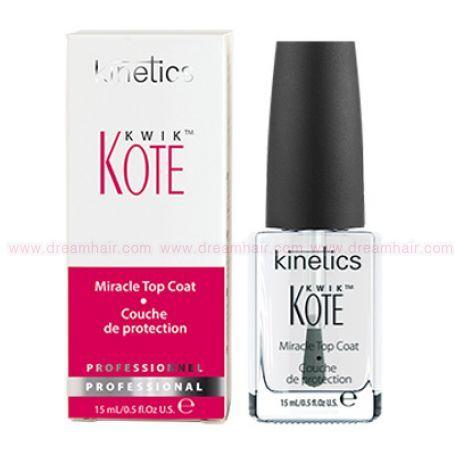 Kinetics Kwik Miracle Top Coat 15ml