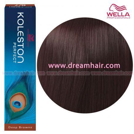Wella Koleston Perfect Permanent Professional Hair Color 60ml 4/77