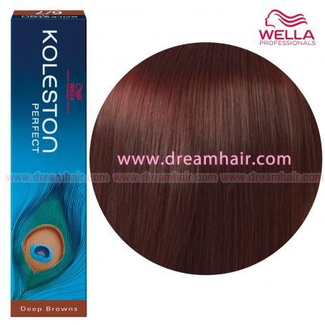 Wella Koleston Perfect Permanent Professional Hair Color 60ml 6/75