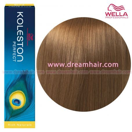 Wella Koleston Perfect Permanent Professional Hair Color 60ml 8/1