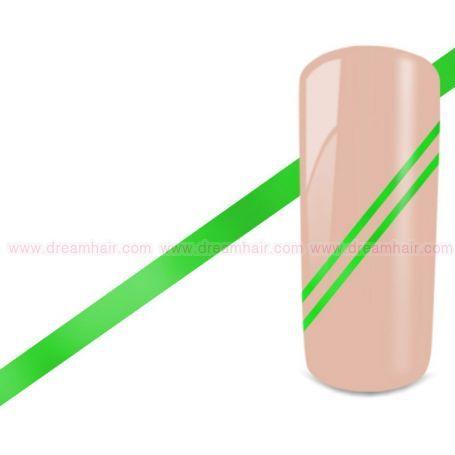 Kynsiteippi Neon Vihreä