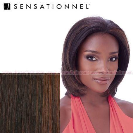 Sensationnel Human Hair Lace Front Wig Mya F1B/30#