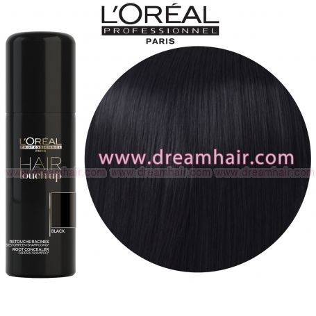 Loreal Hair Touch up - Color Spray Black 75 ml