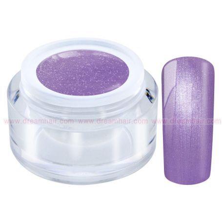 Metallic Pastel Color Gel Lilac
