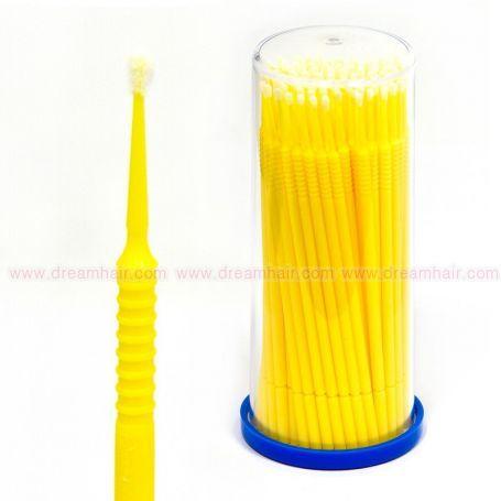 Microfiber Brush Fine / Keltainen 100kpl