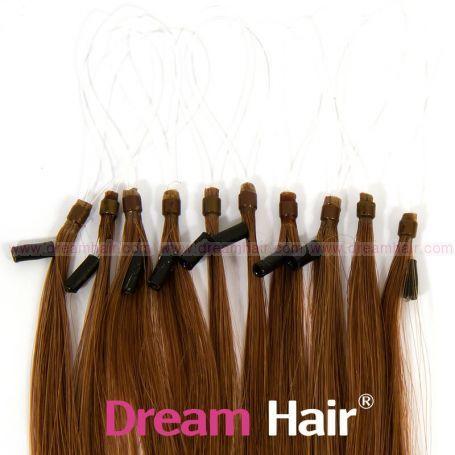 Micro Loop European Hair Extension 30cm 6#