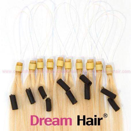 Micro Loop European Hair Extension 60cm 613#