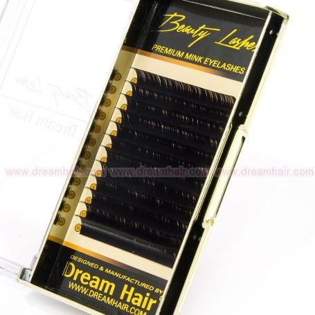 Premium Mink Eyelashes C-Curl 0.20T x 12mm