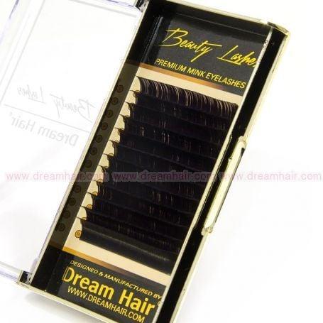 Premium Mink Eyelashes C-Curl 0.10T x 13mm