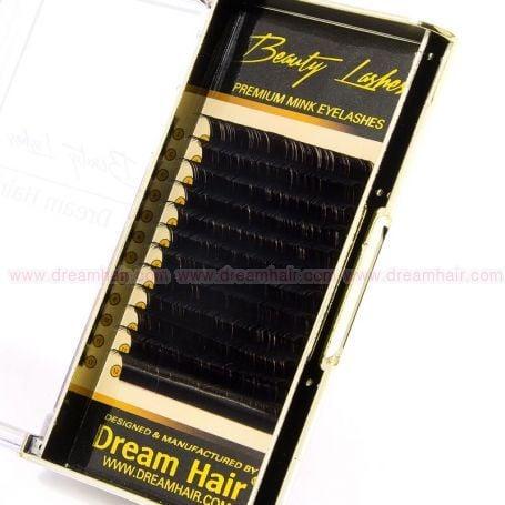 Premium Mink Eyelashes D-Curl 0.15T x 14mm
