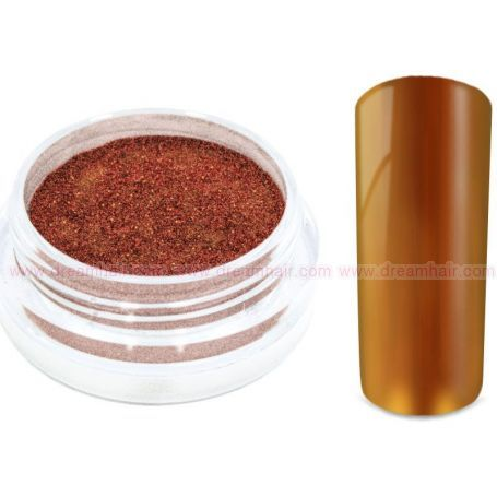 Mirror Chrome Peilipuuteri Red Gold