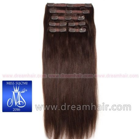 Luxury Clip-In Hair Extension Miss Finland Edition 200g/50cm 2#
