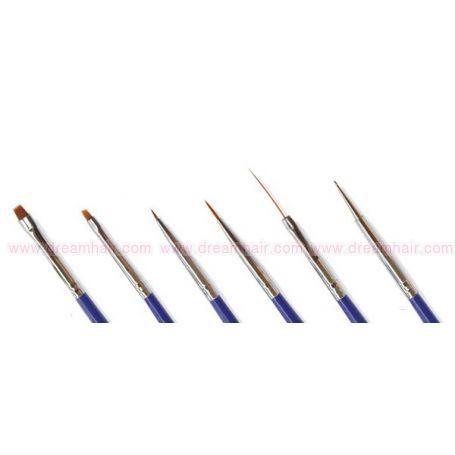 Nailart Brush Kit 6pcs