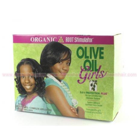 Olive Oil Girls Conditioning Hair Relaxer Kit