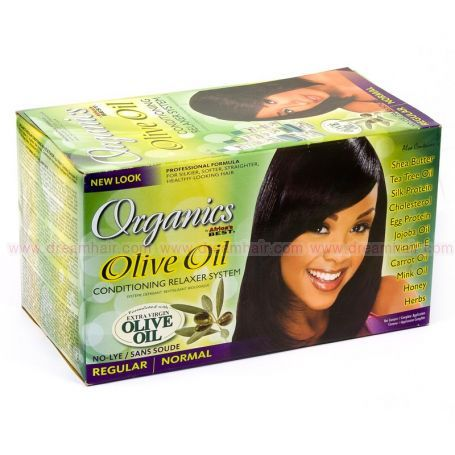 Organics Olive Oil Conditioning Relaxer System Regular