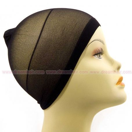 Wig Cap Black 2pcs
