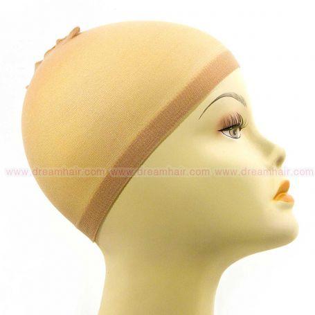 Wig Cap Light Brown 2pcs
