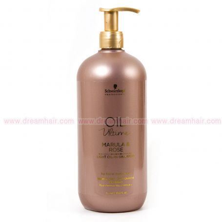 Schwarzkopf Oil Ultime Marula & Rose Oil Shampoo 1000ml