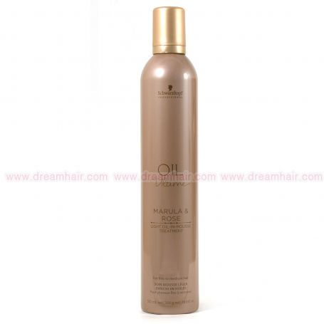 Schwarzkopf Oil Ultime Marula & Rose Light Oil-In Mousse Treatment 500ml