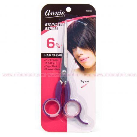 """Annie Hair Cutting Scissors 6.75"""" Purple"""