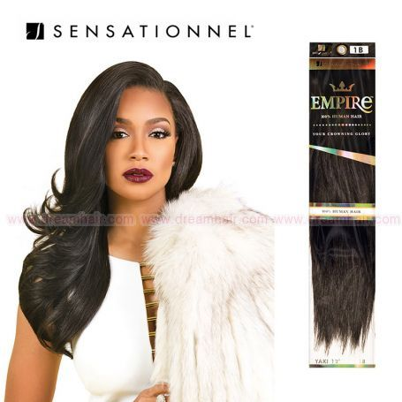 Sensationnel Empire Human Hair 25cm #1B