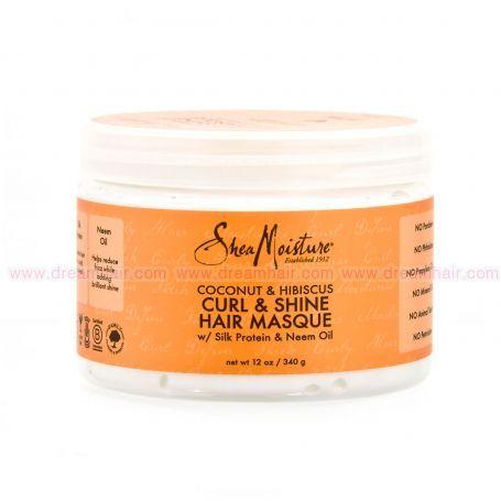 Shea Moisture Curl & Shine Hair Masque 340g