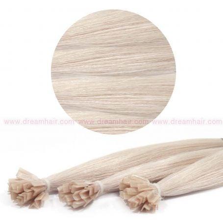 Nail Tip Hair Extension 50cm 25kpl 1001#