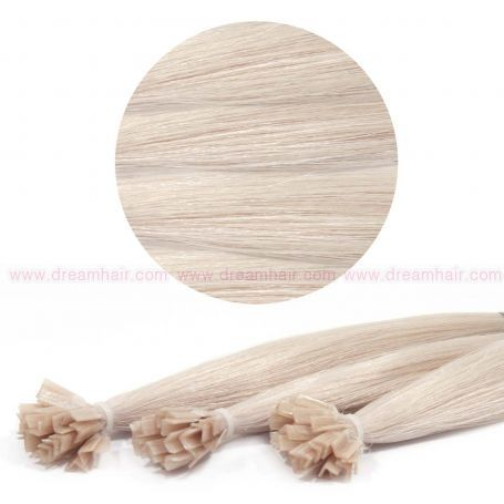 Nail Tip Hair Extension 40cm 25kpl 1001#