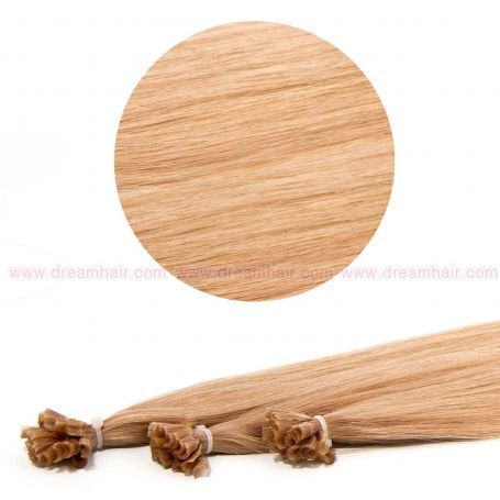 Nail Tip Hair Extension 50cm 25kpl 18#