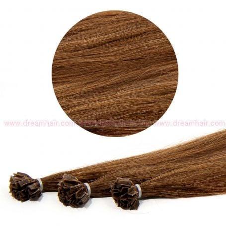 Nail Tip Hair Extension 30cm 25kpl 6#