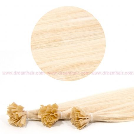Nail Tip Hair Extension 60cm 613#