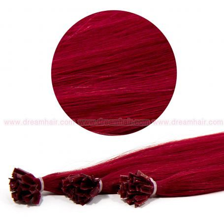 Nail Tip Hair Extension 50cm 25kpl BUR#