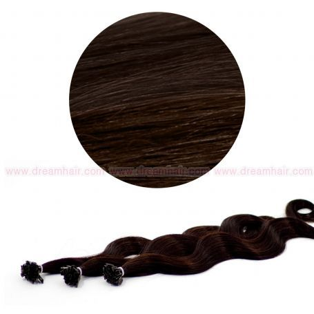 Nail Tip Hair Extension B-Wave 50cm 2#