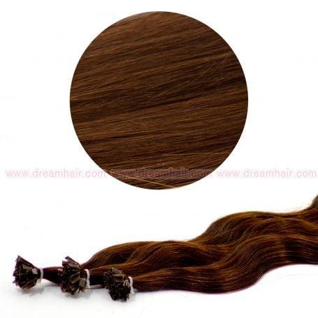Nail Tip Hair Extension B-Wave 50cm 4#
