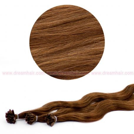 Nail Tip Hair Extension B-Wave 50cm 6#